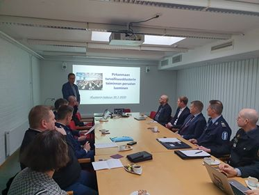 RIOC participatES in the  Pirkanmaa Security Cluster
